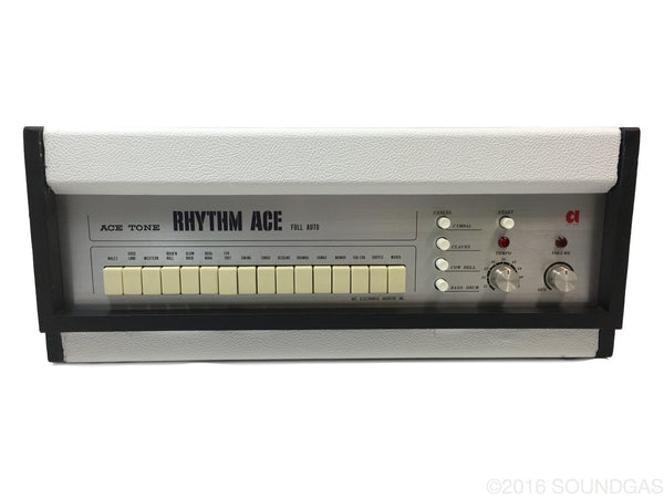 ace tone rhythm ace fr 1 drum machine for sale soundgas vintage effects guitar amps synths. Black Bedroom Furniture Sets. Home Design Ideas
