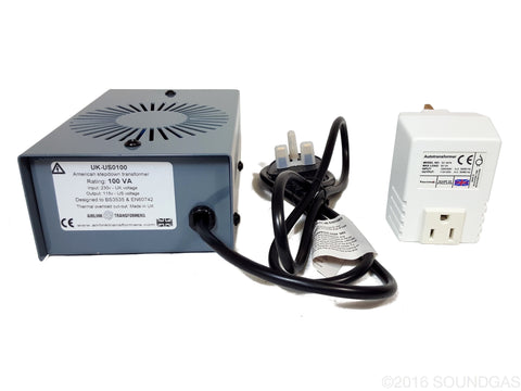 240v to 120v Step-Down Transformer (for USA gear)
