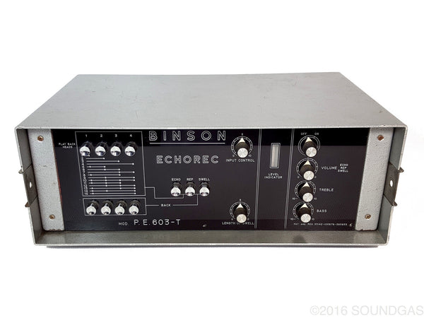 BINSON ECHOREC P.E.603-T (modified)