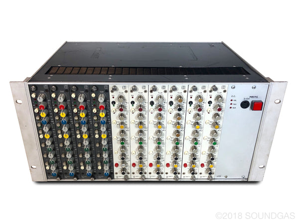 Calrec 10X EQ / Preamp rack