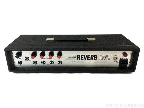 Carlsbro Reverb Unit Spring Guitar Effect For Sale