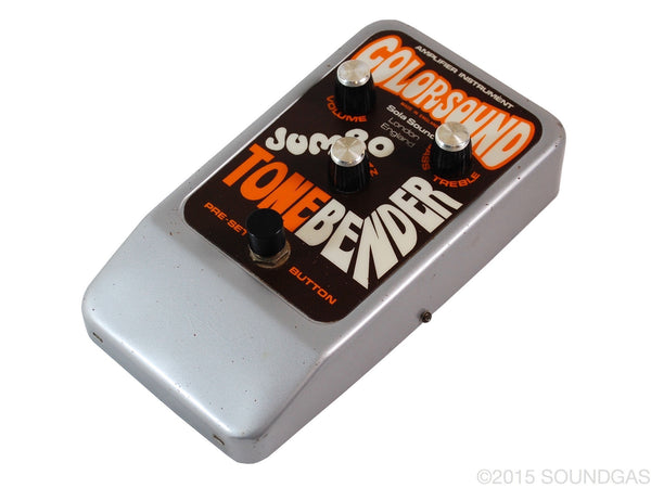 Colorsound Jumbo Tone Bender (Cover)