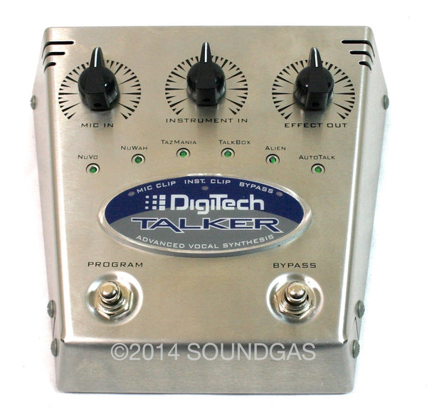 digitech talker vintage guitar effect pedal for sale soundgas classic vintage recording. Black Bedroom Furniture Sets. Home Design Ideas