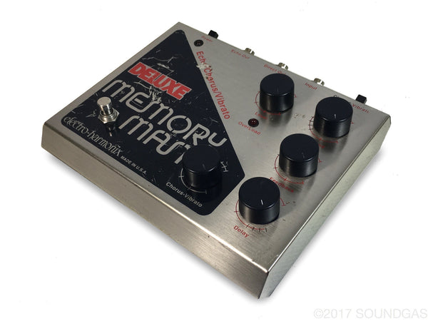 electro harmonix deluxe memory man mn3005 analog delay pedal for sale soundgas classic. Black Bedroom Furniture Sets. Home Design Ideas