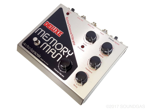 electro harmonix deluxe memory man boxed vintage delay pedal for sale soundgas vintage. Black Bedroom Furniture Sets. Home Design Ideas