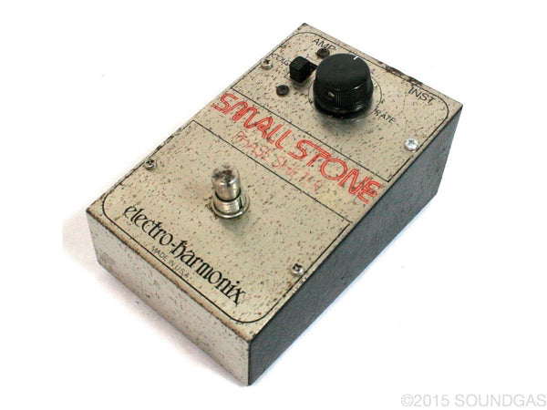 electro harmonix small stone v1 vintage guitar effect pedal for sale soundgas classic. Black Bedroom Furniture Sets. Home Design Ideas