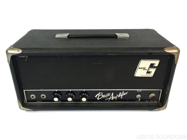 Guyatone GA-940 Bass Amplifier Head