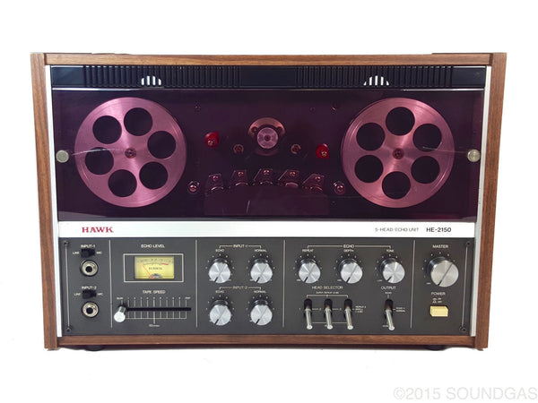 HAWK HE-2150 5-HEAD ECHO UNIT