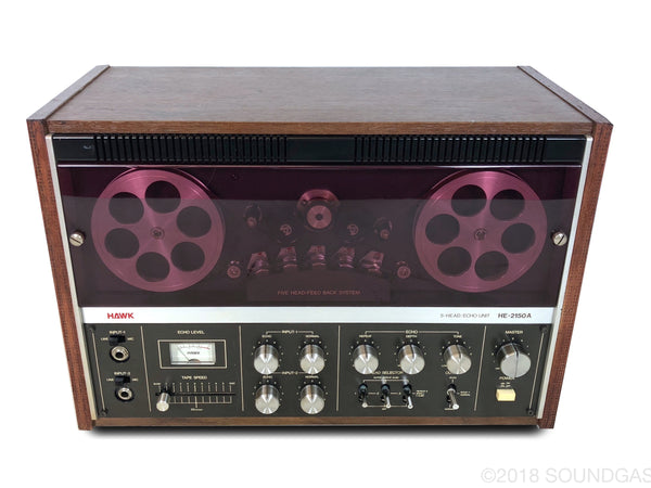 Hawk HE-2150A Open Reel Tape Echo