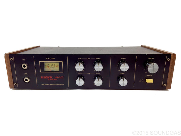HAWK HR-202 ECHO UNIT spring reverb