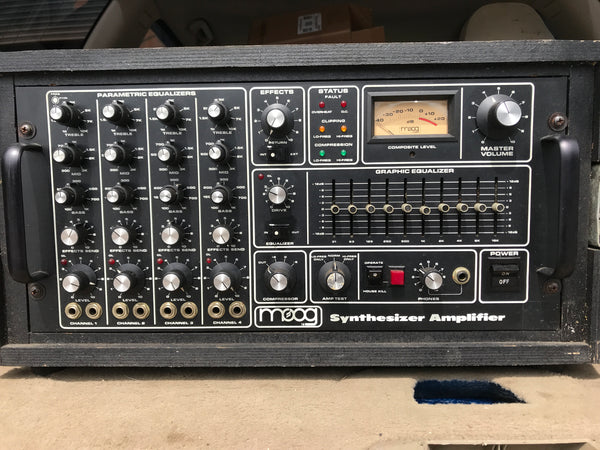 c1978 Moog Synthesizer Amplifier SynAmp