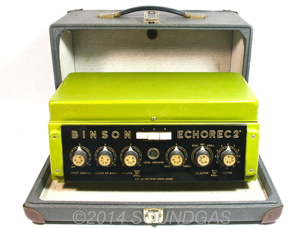 BINSON ECHOREC 2 T7E  - Inc Case - Awaiting Service - Preorder Now!