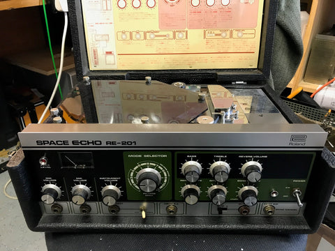 Roland RE-201 Space Echo - early preamps