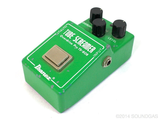 ibanez ts 808 tube screamer vintage guitar effect pedal for sale soundgas classic. Black Bedroom Furniture Sets. Home Design Ideas