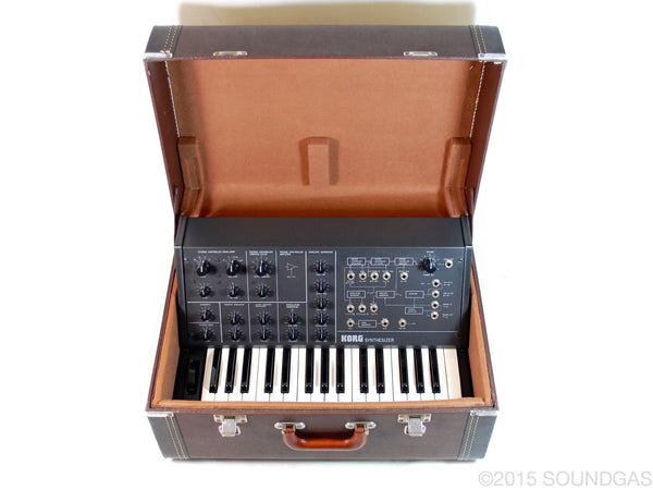 KORG MS-10 *very* near mint, cased