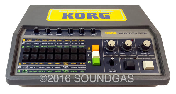 korg rhythm kr 55 drum machine for sale soundgas classic vintage recording gear effects. Black Bedroom Furniture Sets. Home Design Ideas