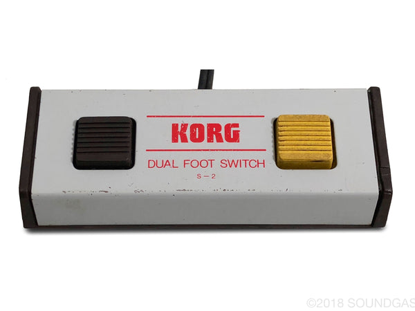 Korg S-2 Dual Footswitch