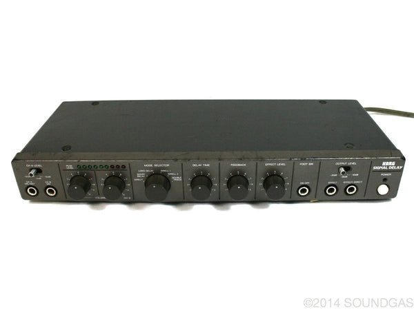 Korg Signal Delay SD400 (Cover)
