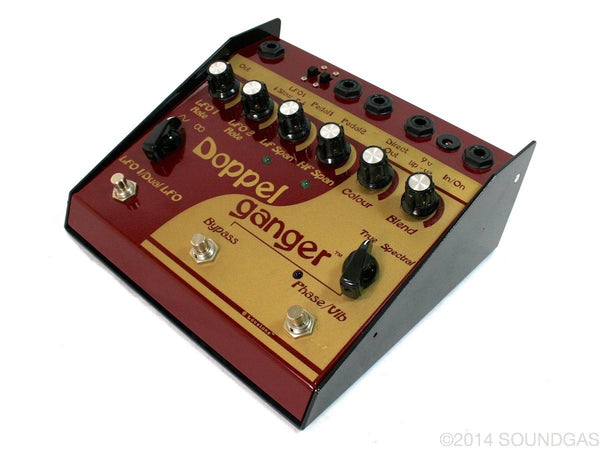 lovetone doppelganger vintage guitar effect pedal for sale soundgas vintage effects. Black Bedroom Furniture Sets. Home Design Ideas