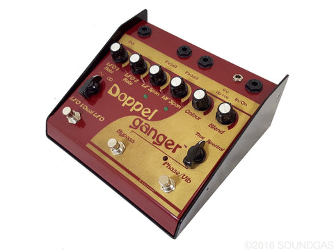 lovetone doppelganger phaser vibrato pedal for sale soundgas vintage effects guitar amps. Black Bedroom Furniture Sets. Home Design Ideas