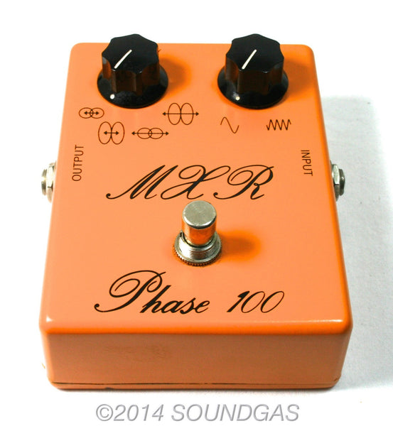 mxr phase 100 vintage guitar effect pedal for sale soundgas vintage effects guitar amps. Black Bedroom Furniture Sets. Home Design Ideas