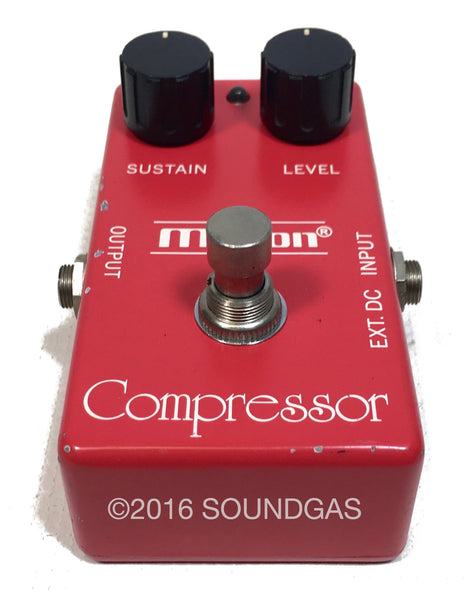 maxon compressor cp 101 vintage made in japan guitar pedal for sale soundgas classic. Black Bedroom Furniture Sets. Home Design Ideas