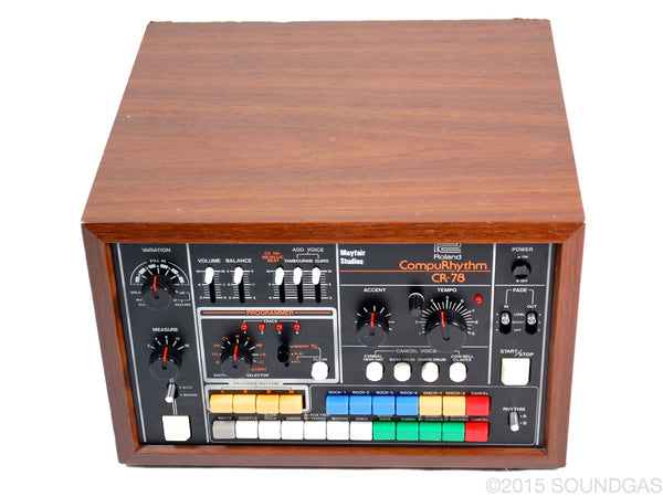 roland cr 78 compurhythm vintage drum machine for sale soundgas classic vintage. Black Bedroom Furniture Sets. Home Design Ideas