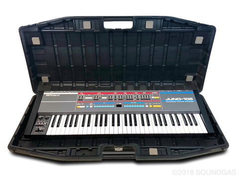 Roland Juno-106 - Near Mint + Hard Case