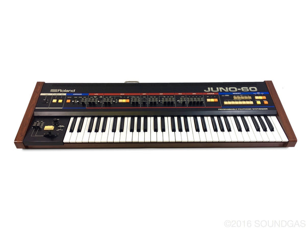 Roland Juno-60 with Original Case