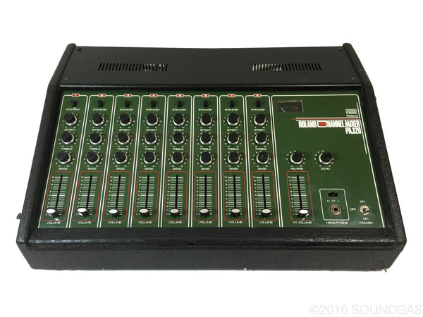 ROLAND PA.120 CHANNEL MIXER