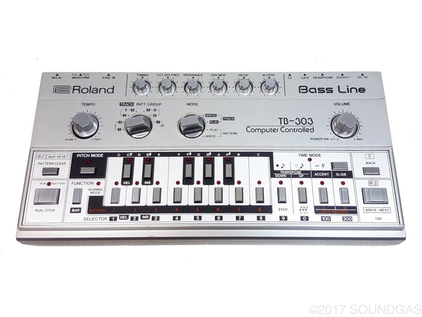 roland tb 303 bass line midibass 303 analogue synth for sale soundgas classic vintage. Black Bedroom Furniture Sets. Home Design Ideas