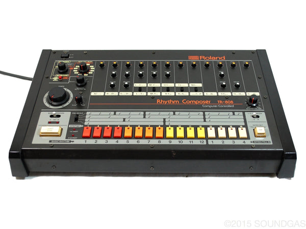 for sale roland tr 808 rhythm composer drum machine soundgas vintage effects guitar amps. Black Bedroom Furniture Sets. Home Design Ideas