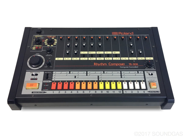 roland tr 808 pro serviced vintage drum machine for sale soundgas classic vintage. Black Bedroom Furniture Sets. Home Design Ideas