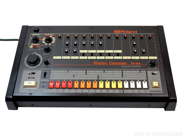 roland tr 808 near mint drum machine for sale soundgas classic vintage recording gear. Black Bedroom Furniture Sets. Home Design Ideas