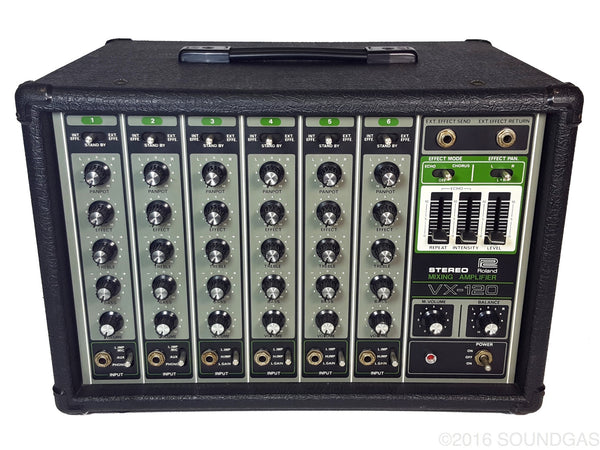 Roland VX-120 Stereo Mixing Amplifier