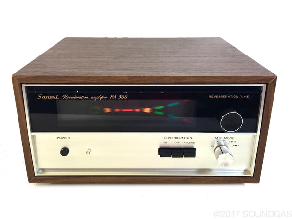 Sansui RA-500 Reverberation Amplifier