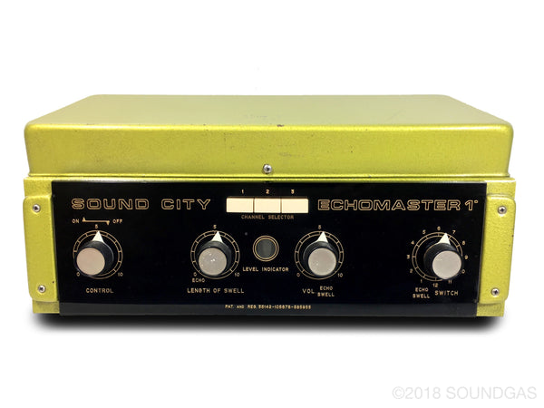 Binson/Sound City Echomaster - super-slow varispeed mod!