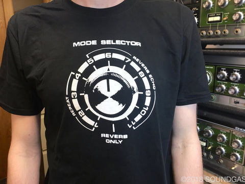 Soundgas Mode Selector T-Shirt (Black)