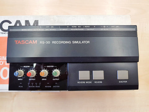 Tascam RS-30 Recording Simulator boxed