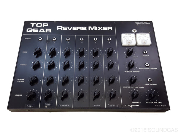 Top Gear Reverb Mixer