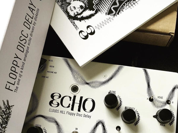 ECHO Clouds Hill Floppy Disc Delay - Ultra-limited: 1 of 10