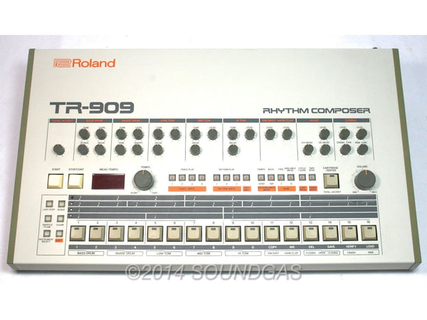 roland tr 909 soundgas vintage effects guitar amps synths pedals and more. Black Bedroom Furniture Sets. Home Design Ideas