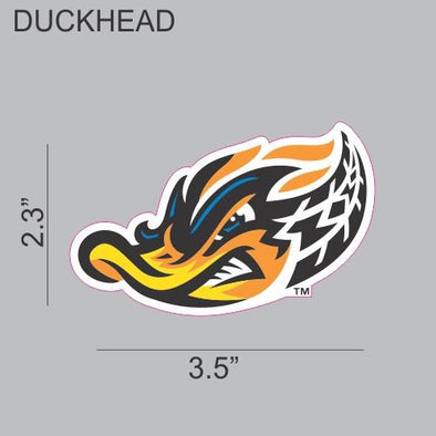 Duck Head Car Decal