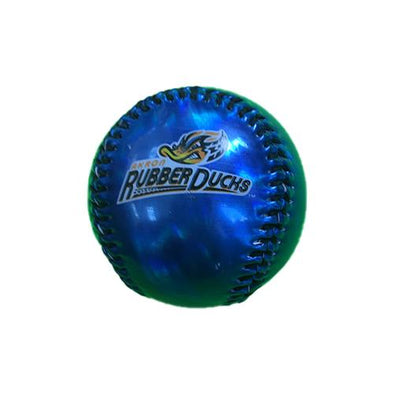 Metallic Royal Logo Baseball