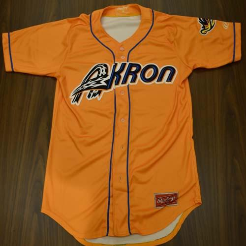 Authentic On-Field Orange Alternate Jersey