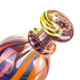 Colored Bubble Glass Carb Cap  For Quartz Bangers  Free Shipping