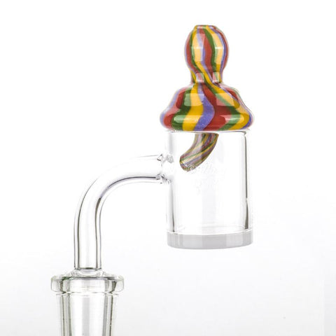 Colorful Spiral Carb Cap For Sale  For Quartz Banger  Free Shipping