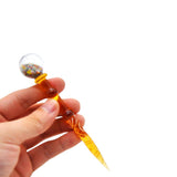 Glitter Globe Novelty Glass Dabber | Quartz Bangers | Free Shipping