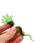 Slime Hand Spiral Novelty Glass Dabber | For Sale | Free Shipping