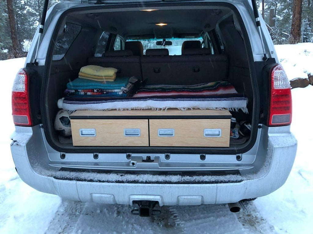 4th Gen 4runner Dual Drawer System Solid Wood Worx